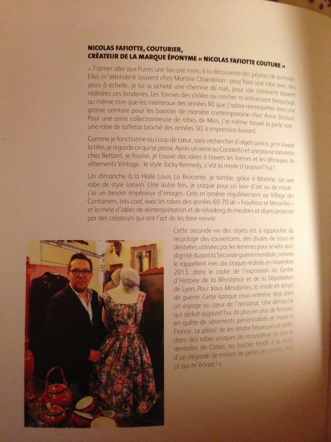 Nicolas Fafiotte - Interview du créateur