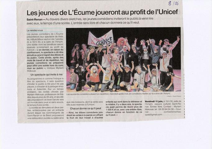 Merci à Christian Abarnou de Ouest France pour cet article !