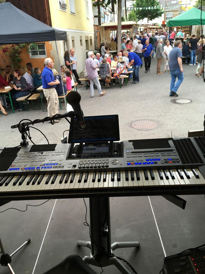 Musikunterhaltung für öffentliche Feste, Hoffest, Hocketse