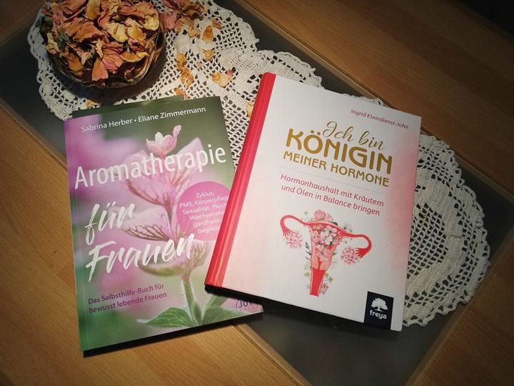 Aromatherapie für Frauen und die Königin der Hormone