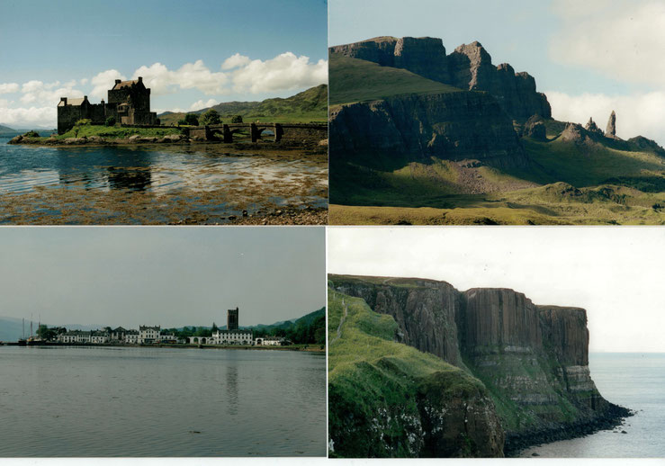 Fotos von unserem ersten Schottland-Urlaub im Jahr 2002