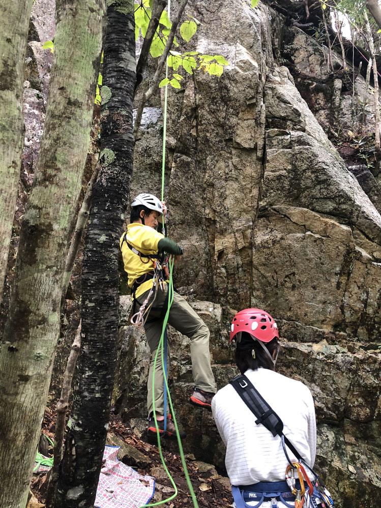 登り返しは必須ディフェンス技術