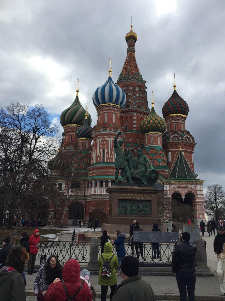 Russland, Moskau, Roter Platz, Basilius Kathedrale