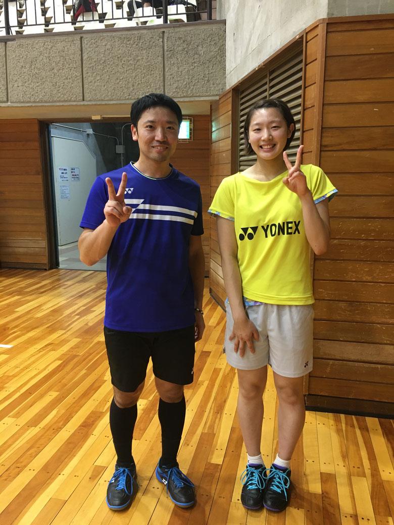 YONEX ・ 木村百伽選手🏸  はい、かわいい~♪