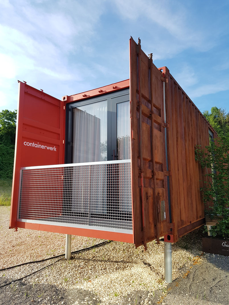 containerwerk, container, Tiny House, Micro Living, Remstal Gartenschau, Endersbach, architecture, Architektur, Containerhaus, Containerarchitektur
