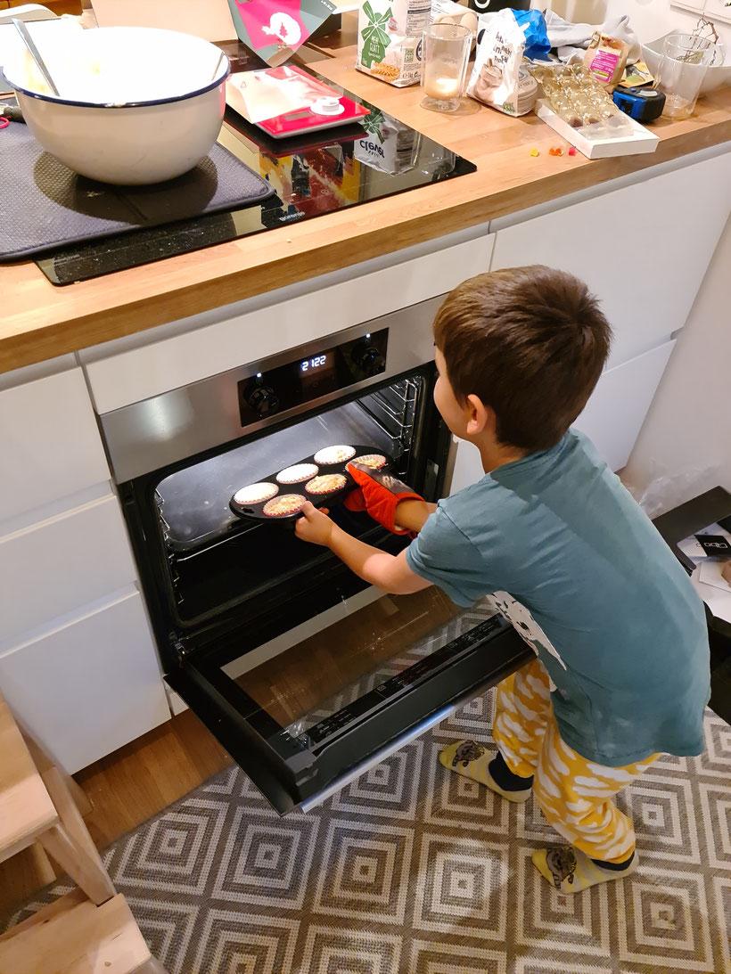 Ab in den Ofen mit den Muffins