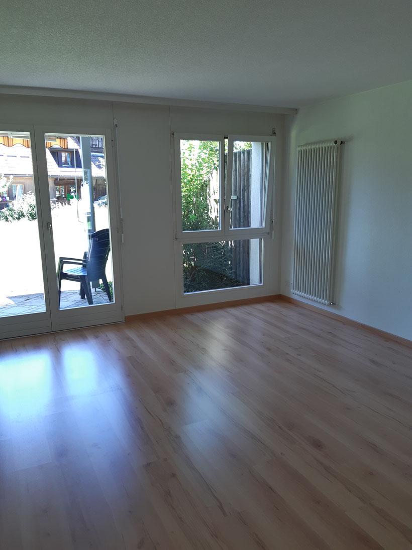 Wohnzimmer 2.5-Zimmer-Wohnung Parterre