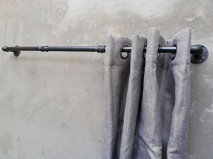 Design Vitragestangen Industriell Eisenrohr