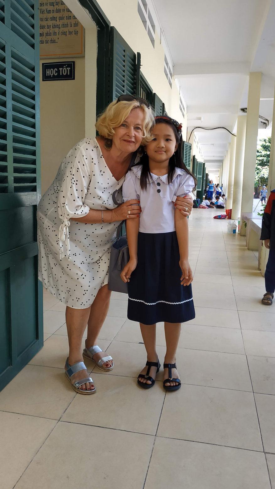 Elke und Minh Vy
