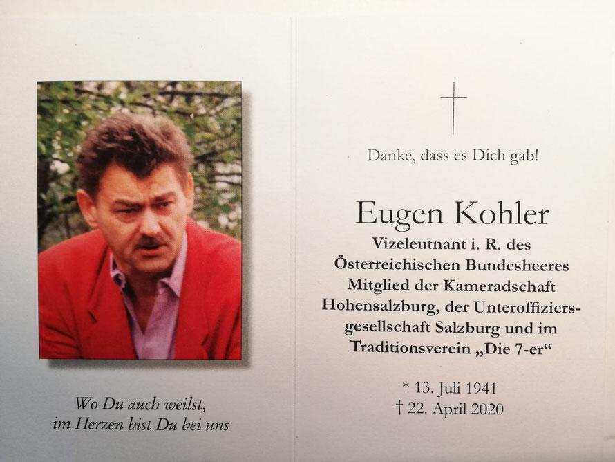 Eugen KOHLER