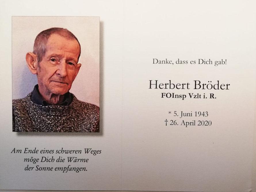 Herbert BRÖDER