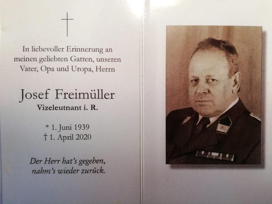 Josef FREIMÜLLER