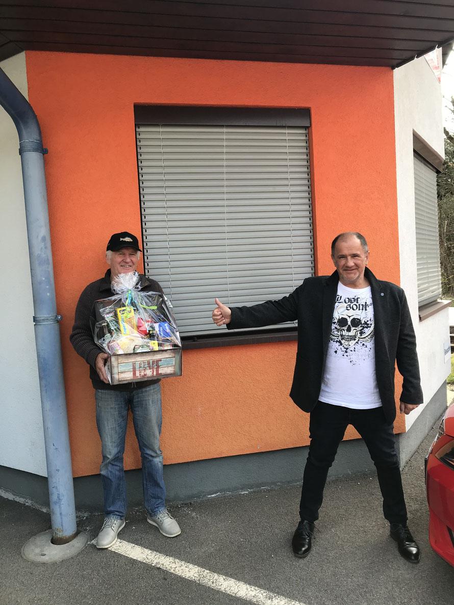 Verabschiedung Konrad Schmidhofer