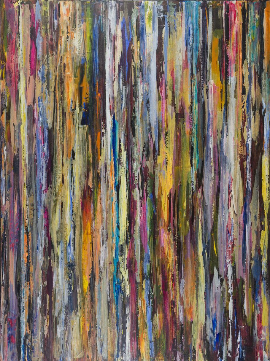 Farbkontraste / Acryl auf Leinwand / 160 x 120 cm