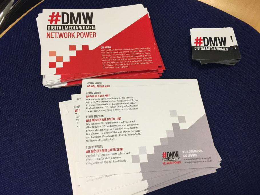 """Das neue #DMW-Leitbild: """"Wir wollen in einer Welt leben, in der Vielfalt herrscht. Wir sehen im digitalen Wandel die größte Chance, diese Vision zu verwirklichen."""