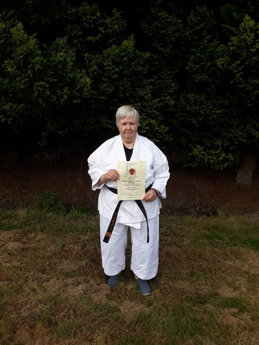 Prof. emerita Annelies J.M.H. van Bronswijk am 23.09.2020