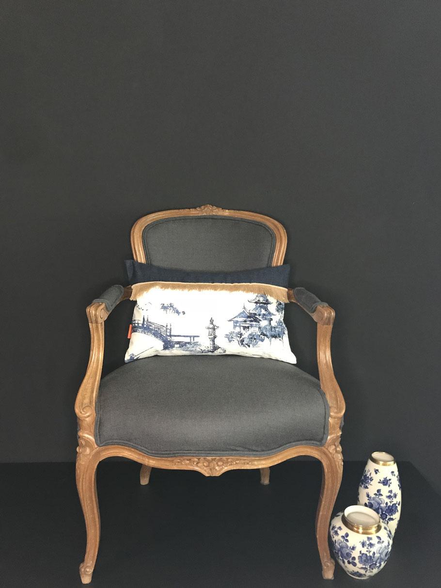 Boheme de luxe Interior Kissen Unikate Bone China Schöner Wohnen so lebe ich couch jimdo zuhause