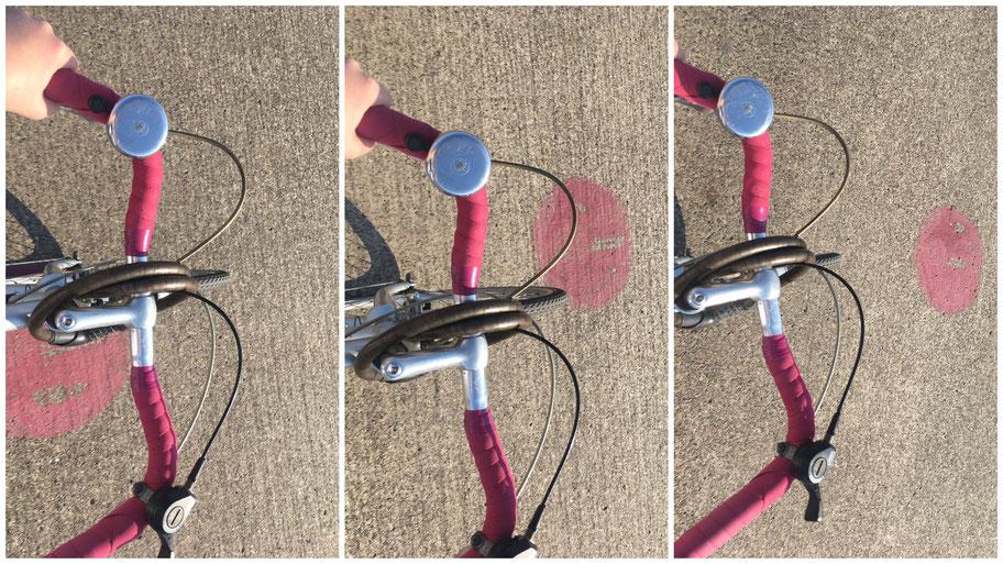 Lara aus Berlin hat sich aufs Fahrrad geschwungen und ist übers Tempelhofer Feld gedüst...