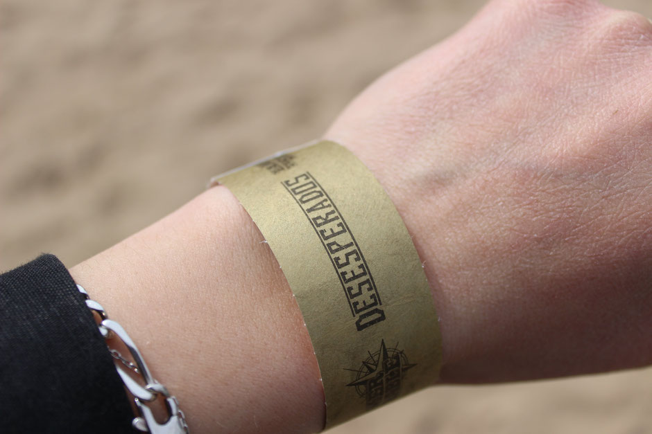 Bracelet escape game de la Mer de Sable Desesperados