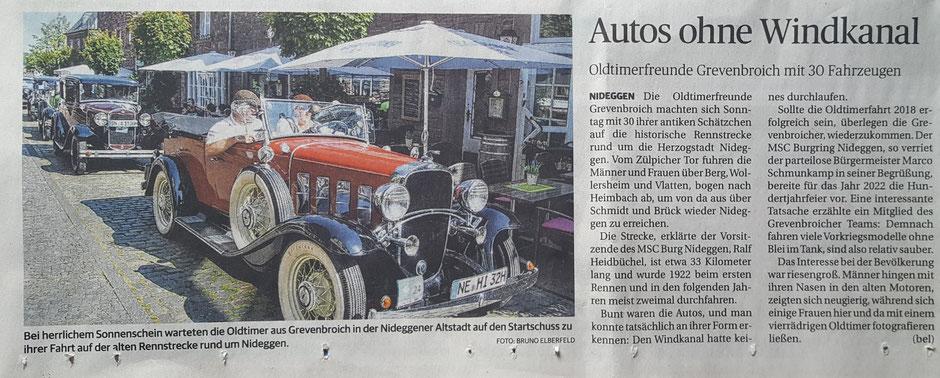 Dürener Zeitung vom 17.7.2018