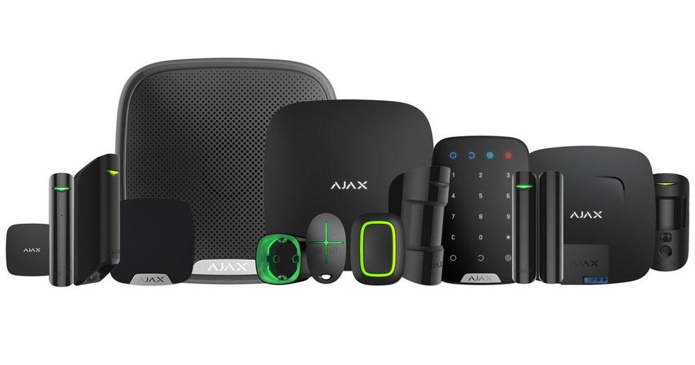 prodotti di allarme senza fili, via radio in provincia di arezzo. Vendita sistemi di allarme senza fili. Ajax allarme