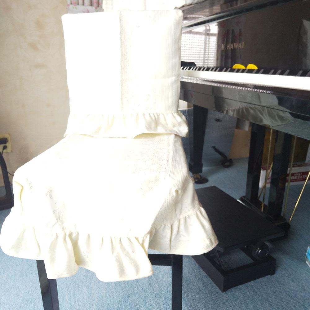 ピアノ椅子カバー