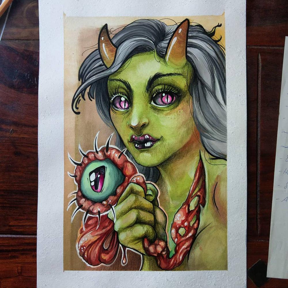 06.2020 dtiys kelly doty Monsterlady