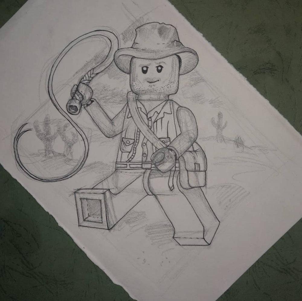 Indiana Jones, 04.2020