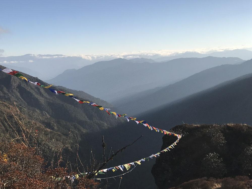 Himalaya mit Jhomolhari auf dem Druk Path