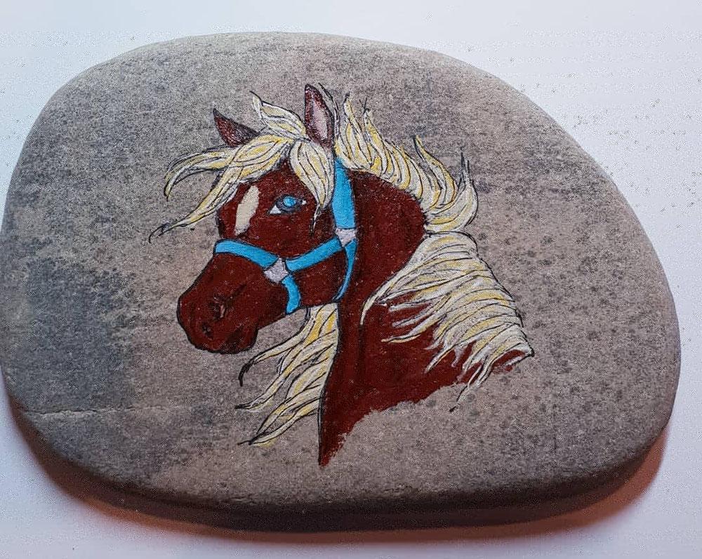 Etwas für Pferdefreunde.