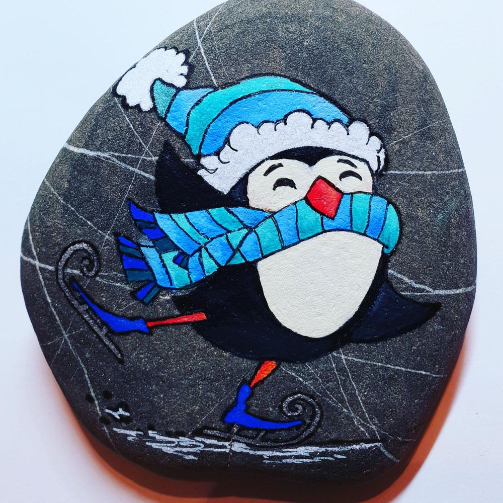 Pinguin on ice