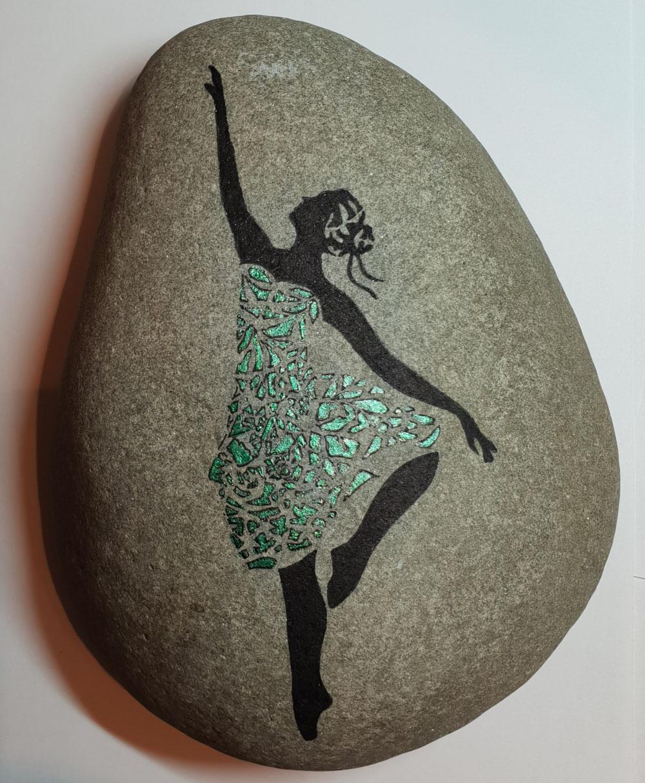 Ballerina in grün....