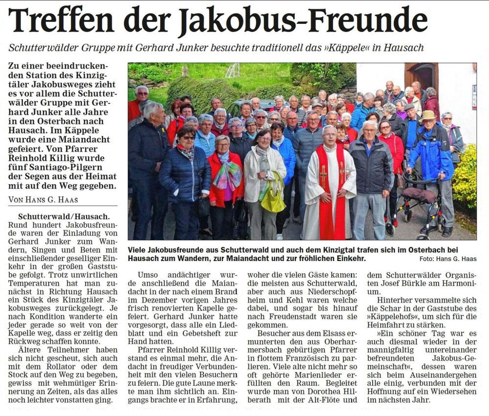 Quelle: Offenburger Tageblatt vom 11.05.2019