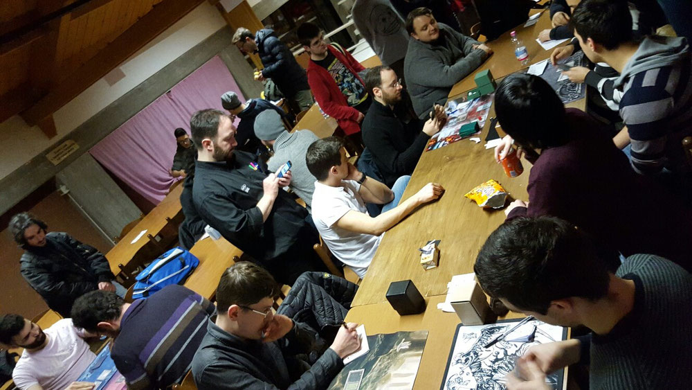 Top8 in corso! Olympus#4, 49 players!