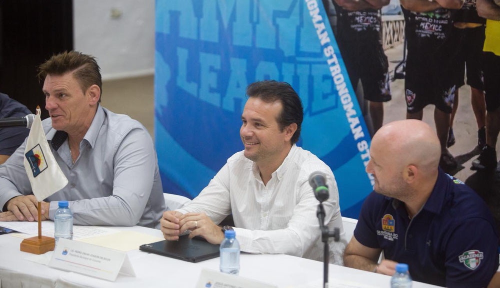 """""""Con este tipo de eventos, fomentan el deporte y ayudan a la reparación del tejido social en la isla"""", afirma Pedro Joaquín"""
