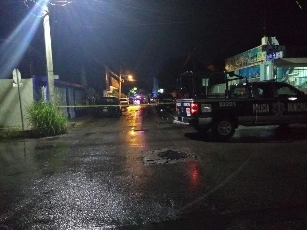 Las autoridades municipales acordonaron el área en cuestión de segundos
