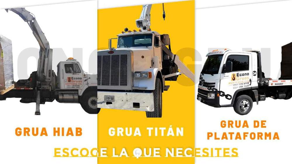 Contamos con las mejores grúas, para que elijas la que se adapte a tus necesidades   Trabajamos las 24 horas del día los 365 días del año para brindarte el servicio de calidad que tú mereces!  📞 Contáctanos a los números📞 9842061320 9841760790 9841473004  📍 Acude a nuestras instalaciones, estamos en Av 115 y calle 14 norte.  También visita nuestra pagina web: 🌐 www.econogruas.net  Y síguenos en Twitter @gruasplaya