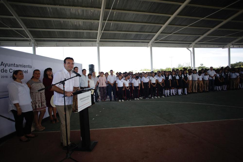Se brindará atención al sector educativo, para que cuenten con mejores instalaciones, destaca Pedro Joaquín