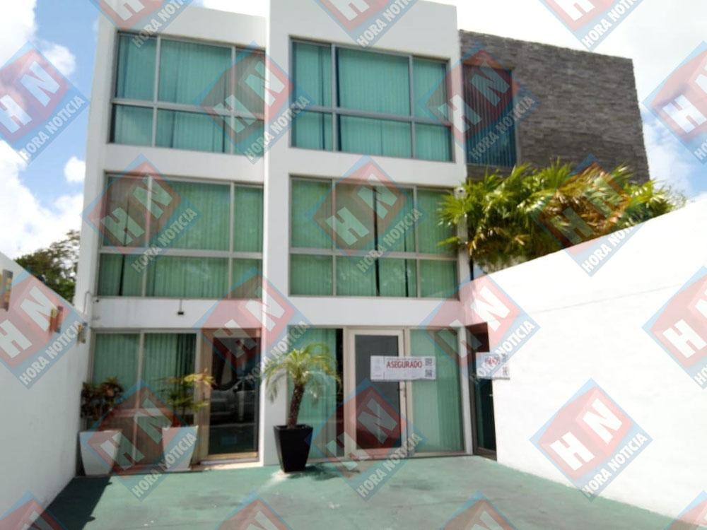 El edificio fue asegurado por la PGR en Cancún