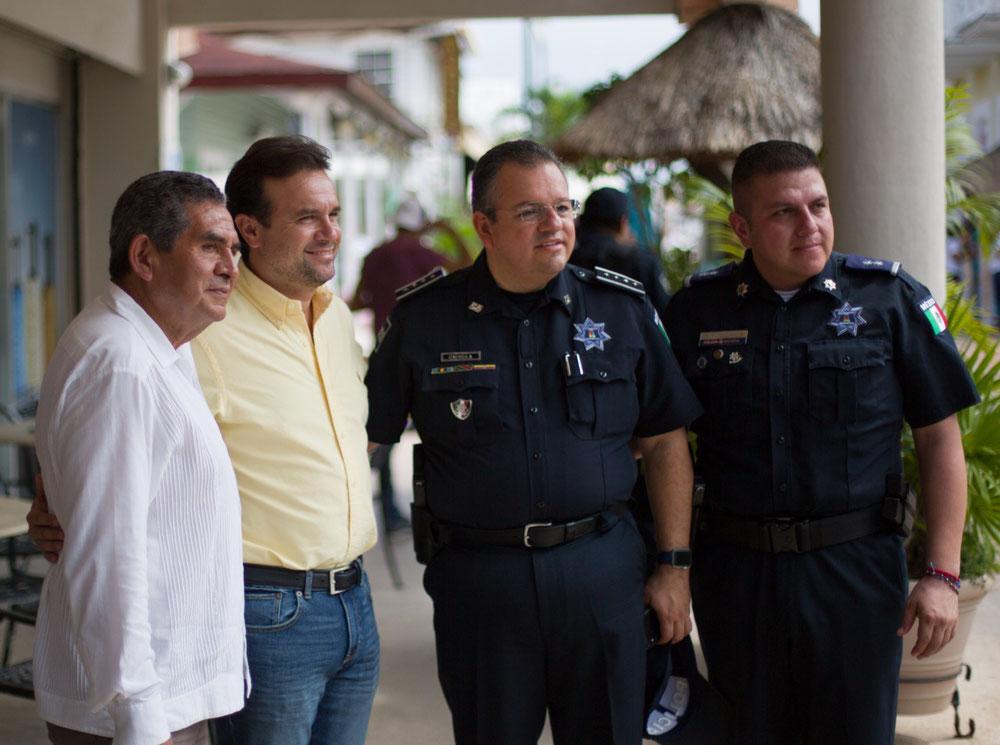 Se suma el Presidente Municipal al trabajo para generar una estrategia de seguridad homologada en Quintana Roo