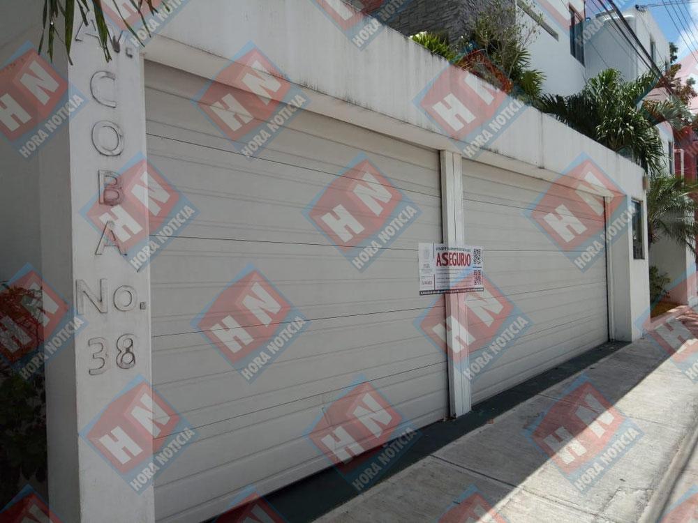 Segundo edificio asegurado en Cancún