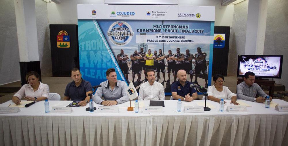 """Anuncia el Presidente Municipal que la isla será sede del """"Strongman Champions League México 2018"""", el 9 y 10 de noviembre próximo"""