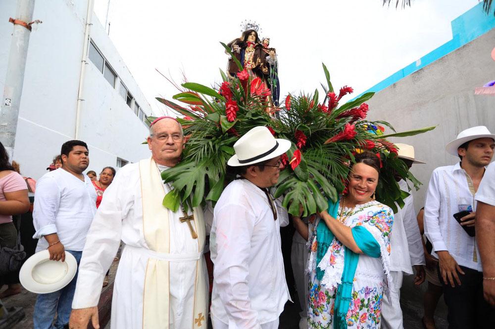 Más de 100 mil solidarenses y turistas disfrutaron de 9 días de celebraciones en honor a la Virgen de Nuestra Señora del Carmen