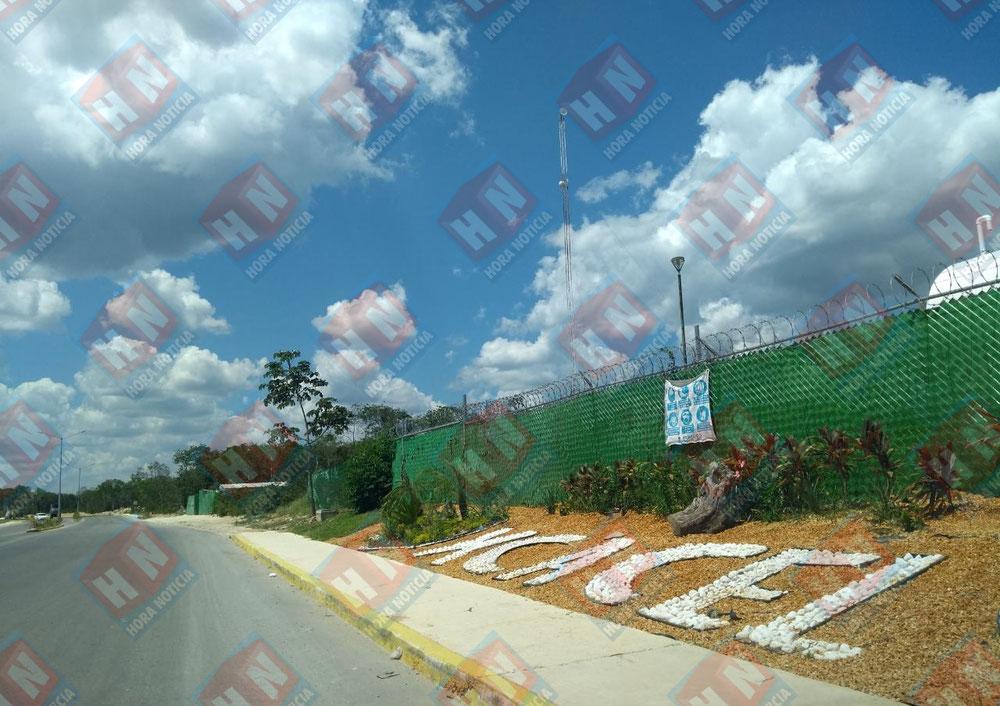 En la obra de XCACEL se han tapado más de 20 cenotes.