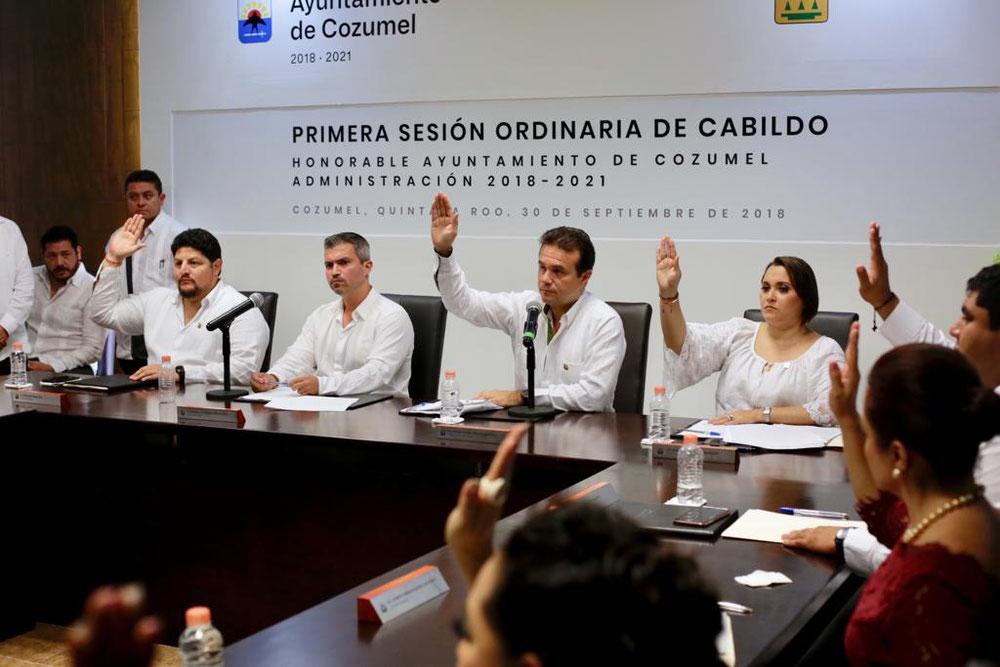 En Primera Sesión Ordinaria, dan luz verde a la integración de las comisiones ordinarias del Ayuntamiento de Cozumel
