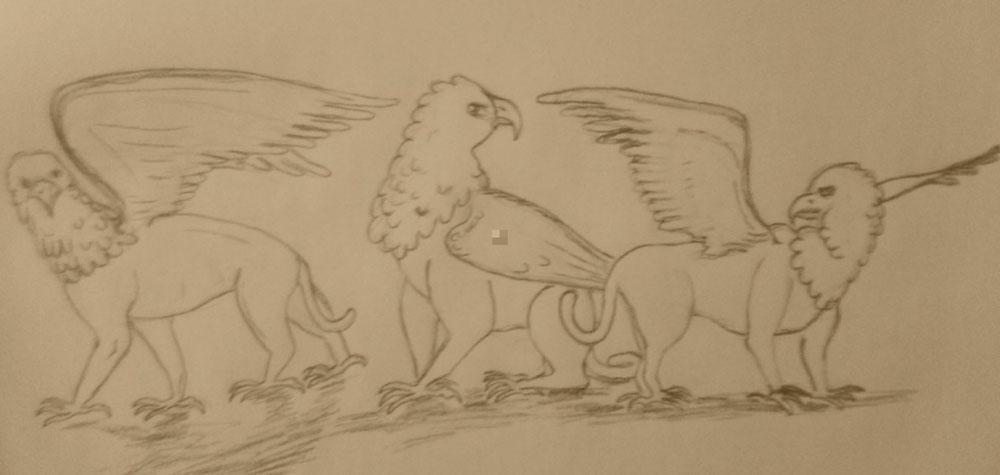 """Créatures gauloises. Le """"Singos""""."""