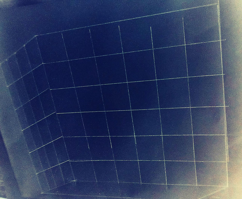 Un découpage en cube.