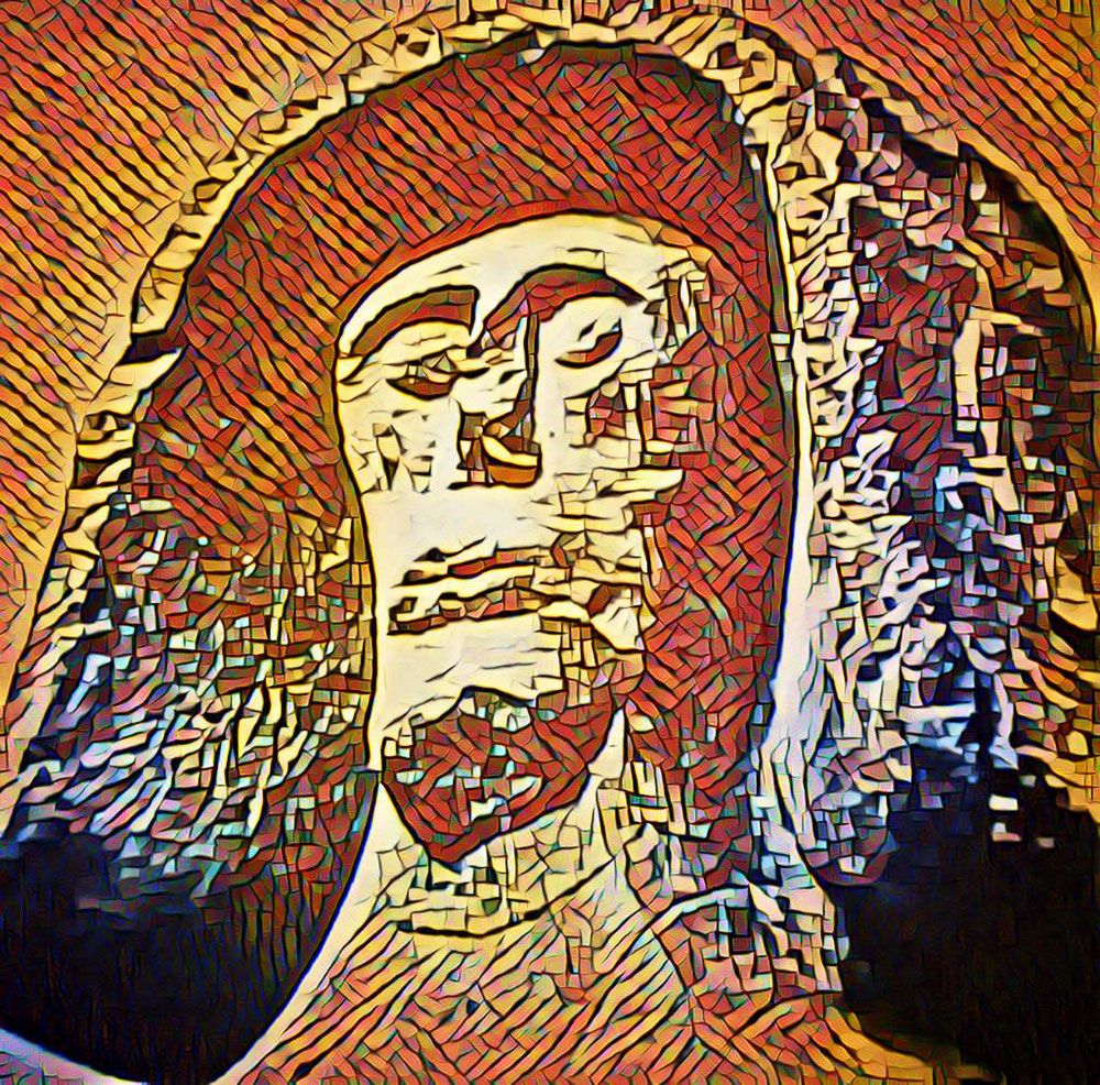 Les astres sont des personnages. Était ce lui que l'on nommait Samos? D'après sa coiffe que l'on retrouve sur les monnaies, il s'agit de l'aurige qui mène le char du temps. Le soleil?
