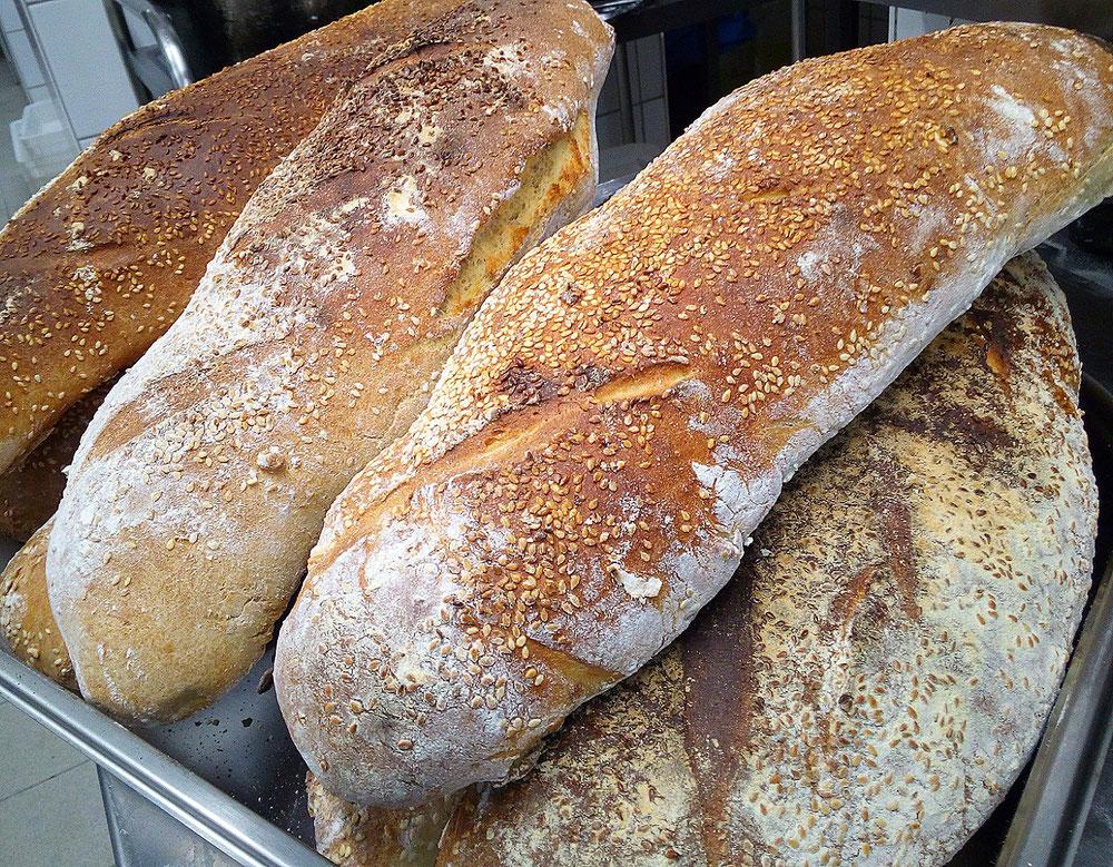 Hausgemachtes Sizilianisches Brot