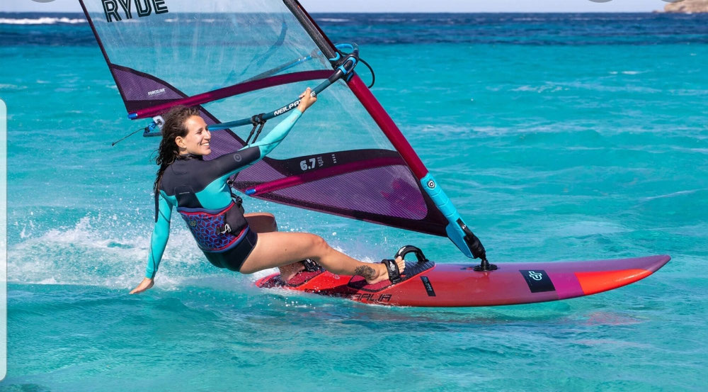 It is the best spot for Windsurfing!